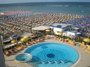 Hotel David Cesenatico - Piscina